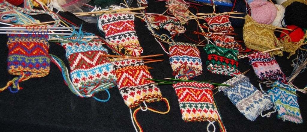 Saami MItten Class at Stitches
