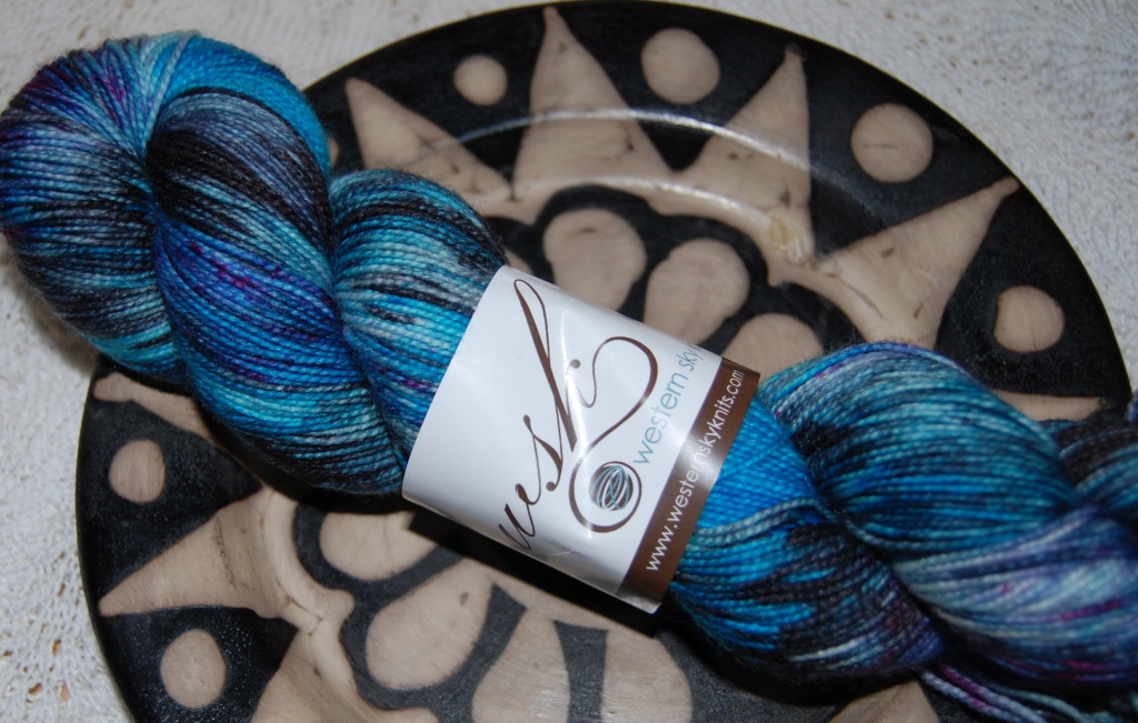 Western Sky Knits, Aspen Sock, color: wyldstyle